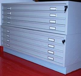 Cassettiere portadisegni for Cassettiera usata